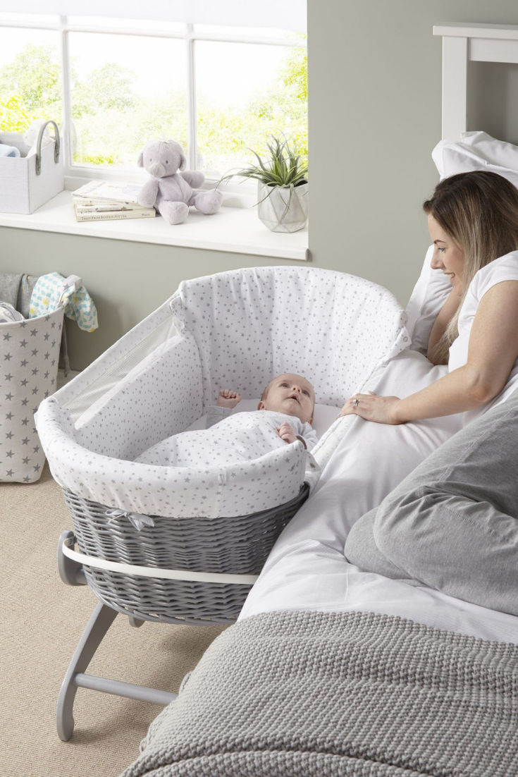 Clair de Lune Bedside Crib   Bedside crib Cribs Baby boy ...