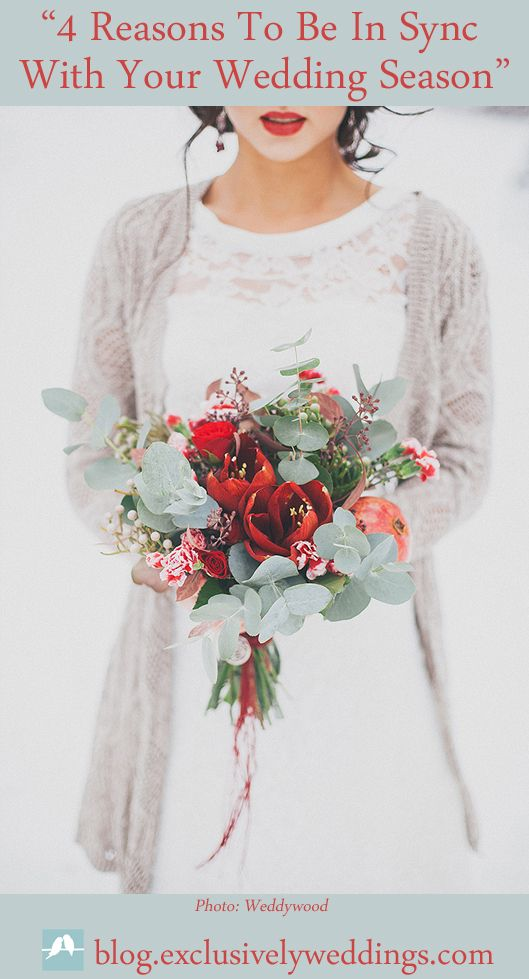 Wedding Colors   Winter Wedding - 4 Reasons To Be In Sync With Your Wedding Season