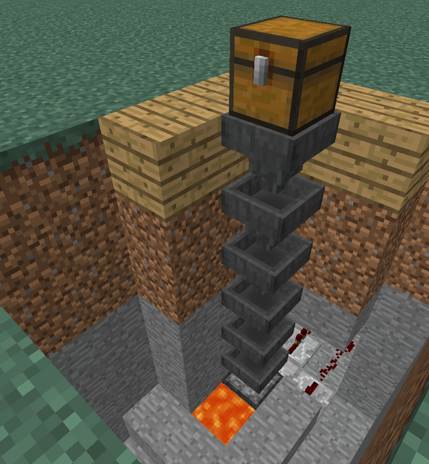 An efficient Minecraft incinerator that won't burn down your house.