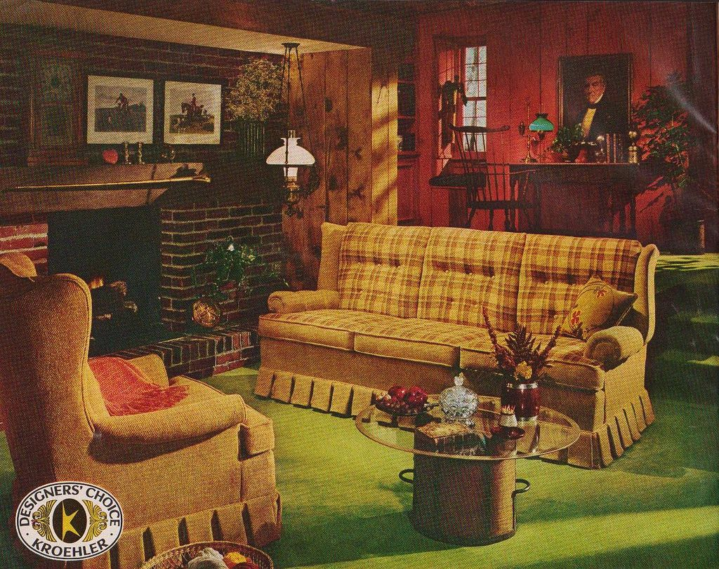 Early american living room i want this furniture a family room pony would dream of where the entire family could sit a picture of his father would hang in