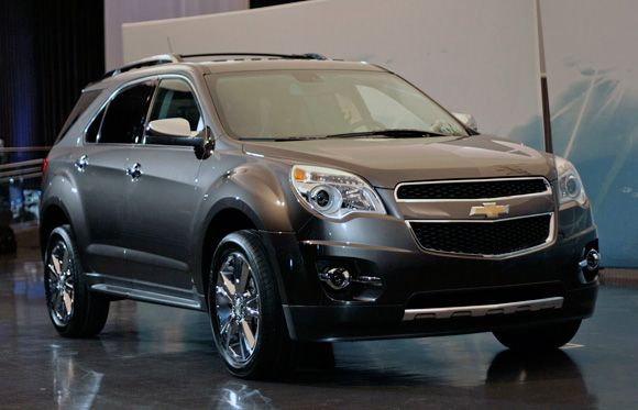 Detroit Preview 2010 Chevrolet Equinox Debuts With Direct