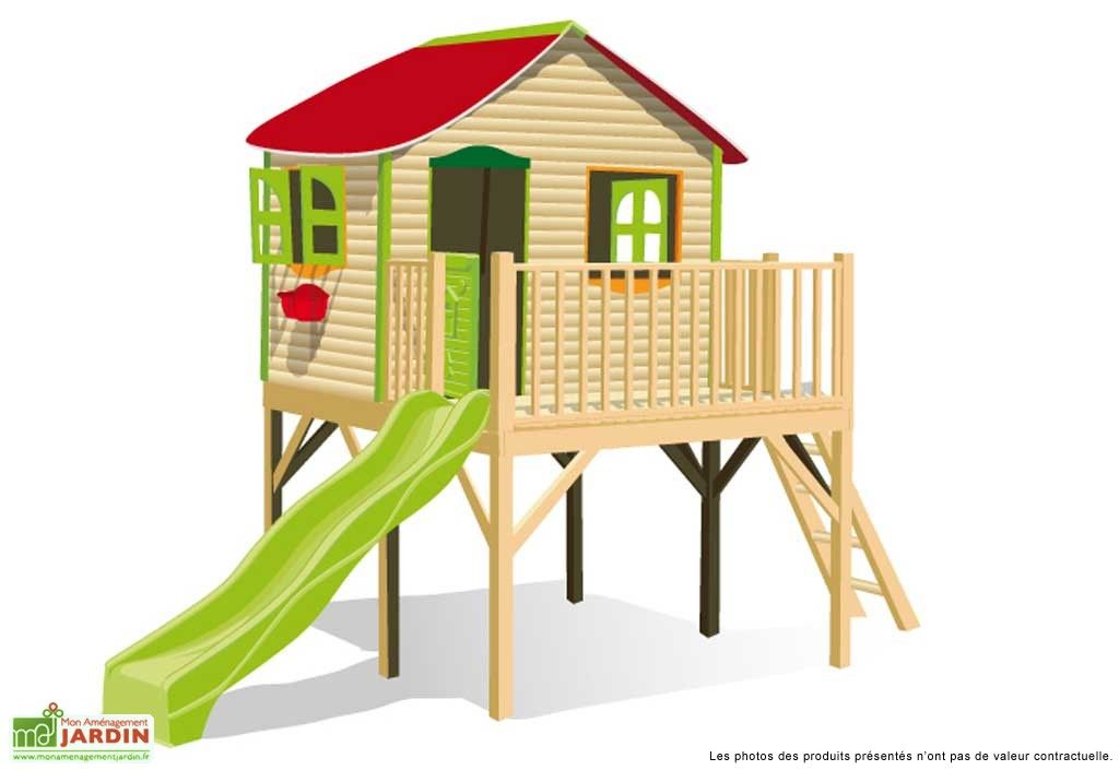 maison enfant bois et plastique diane maison enfant. Black Bedroom Furniture Sets. Home Design Ideas