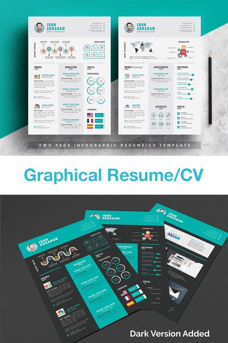 Info Graphic Resume Cv Resume Design Free Infographic Resume Graphic Resume