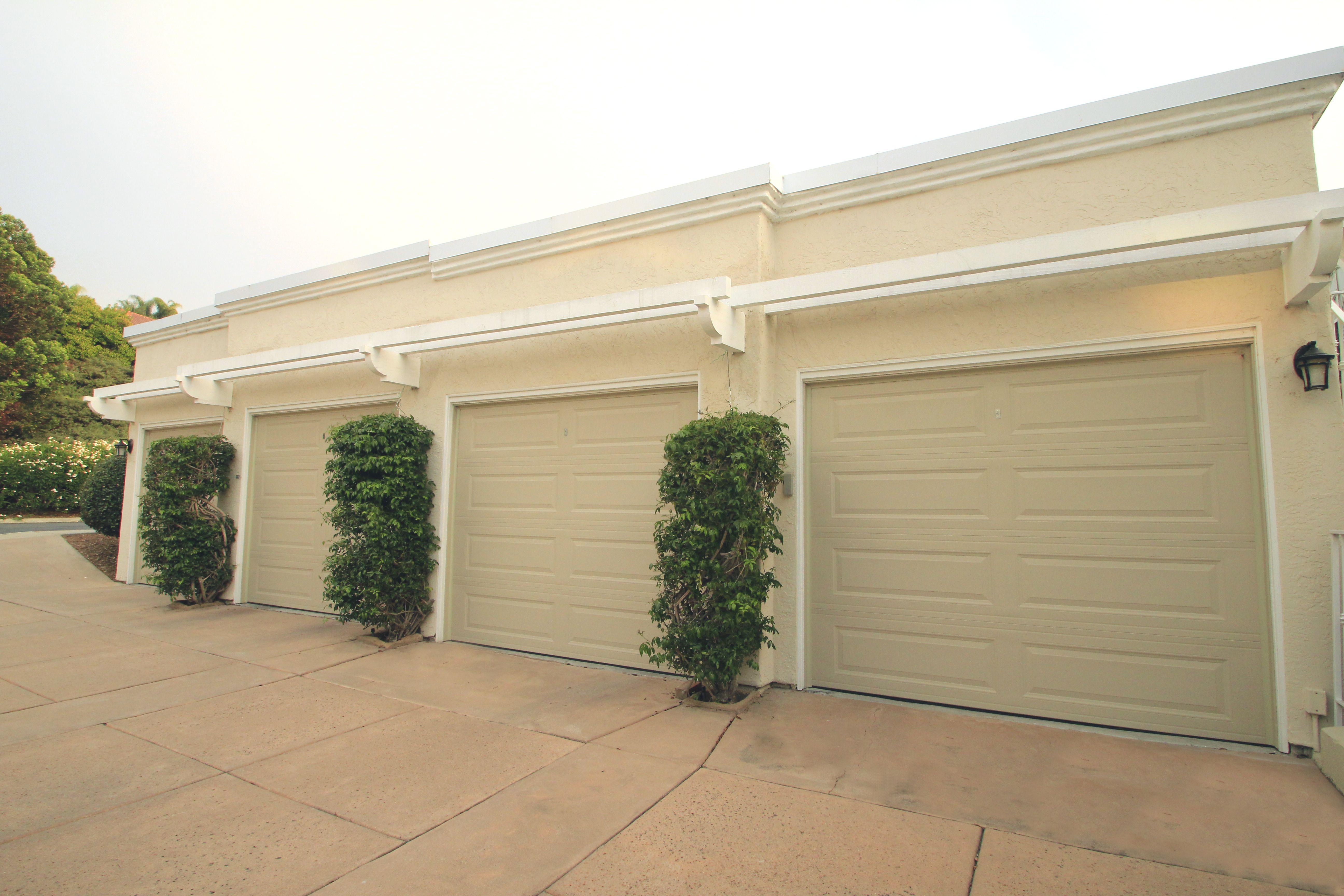 Classic Steel Garage Doors In Wicker Tan Garage Doors Steel Garage Doors Custom Garage Doors
