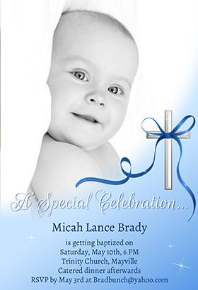 Baby Special Celebration Printable Invitation Customize Add Text And Photos Print For Free Baptism Christening