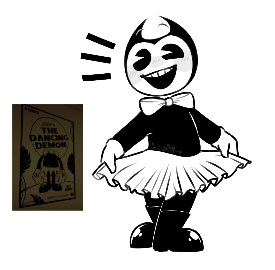 bendy and the ink machine tutu