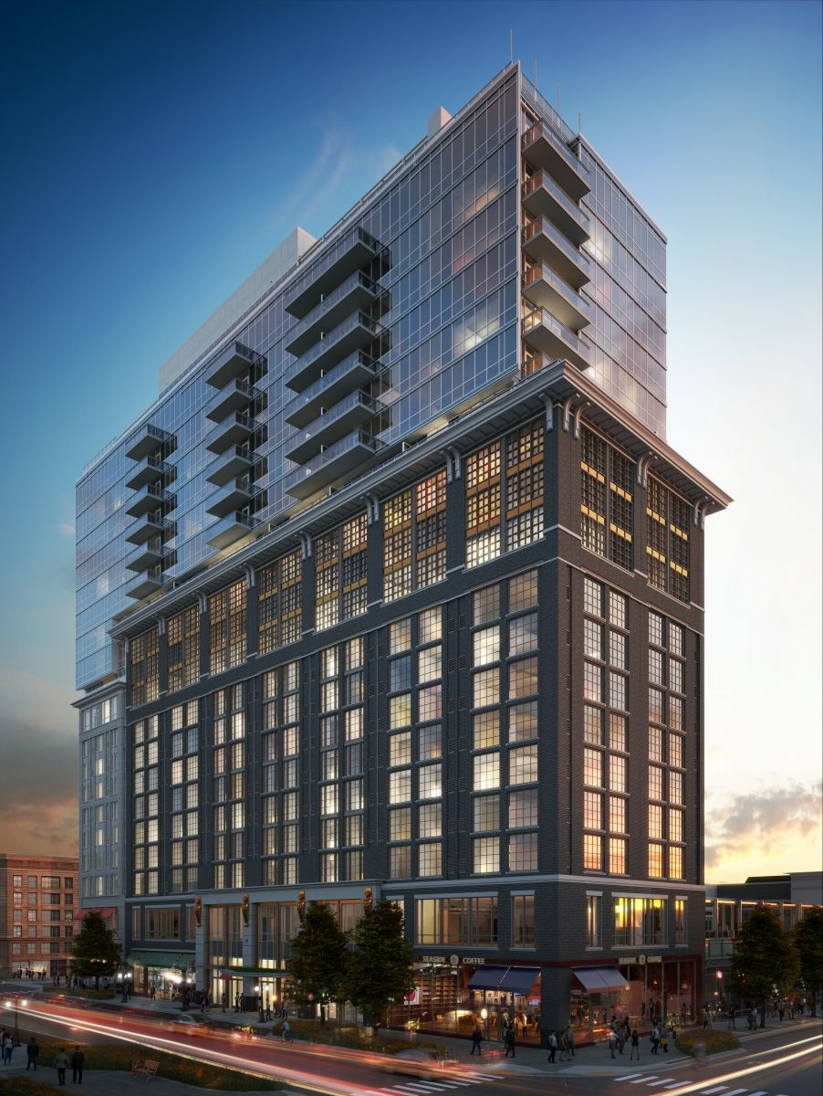 First Look at Condos Under Construction at Pike & Rose in