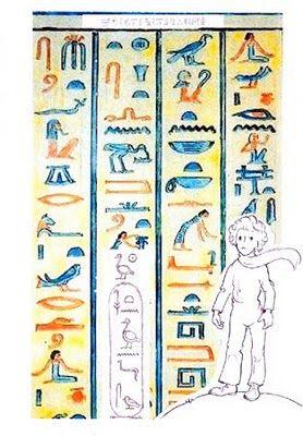 .:Em hieroglifos(escrita dos antigos egipcios)