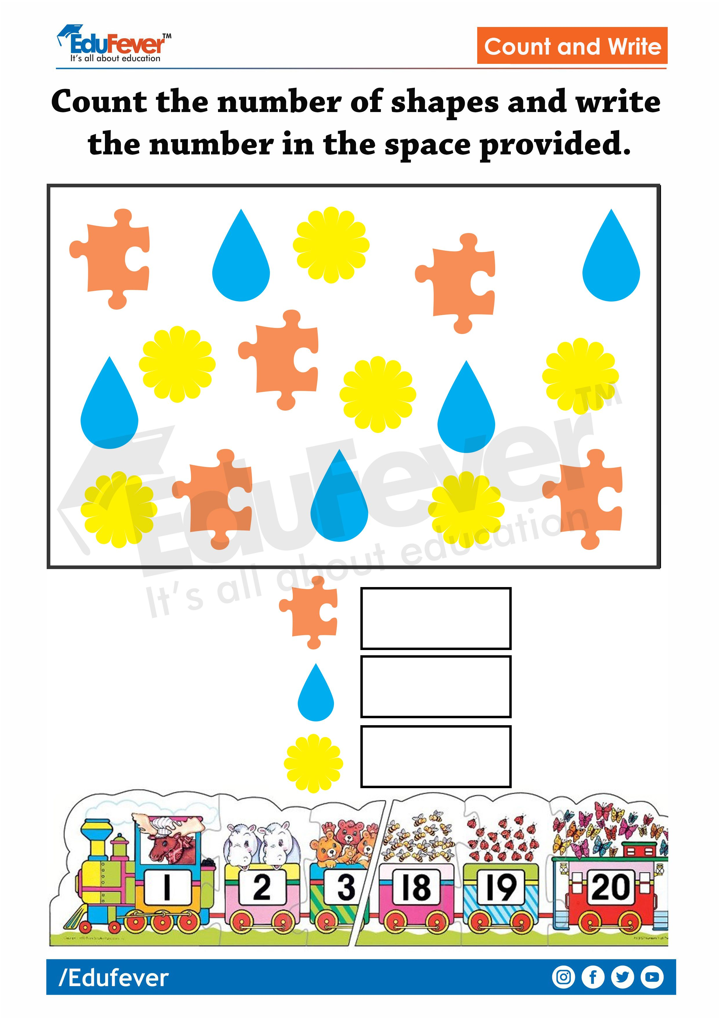 Lkg Worksheet
