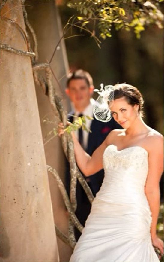 """Screen Capture from Photovision 2012 """"Wedding Shootout"""".  I love what the long lens does here."""