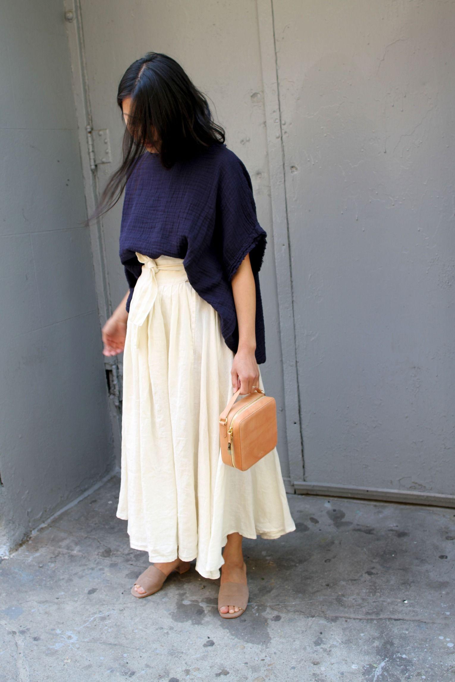 Black Crane Wrap Skirt | Steven Alan | Style | Pinterest | Steven ...