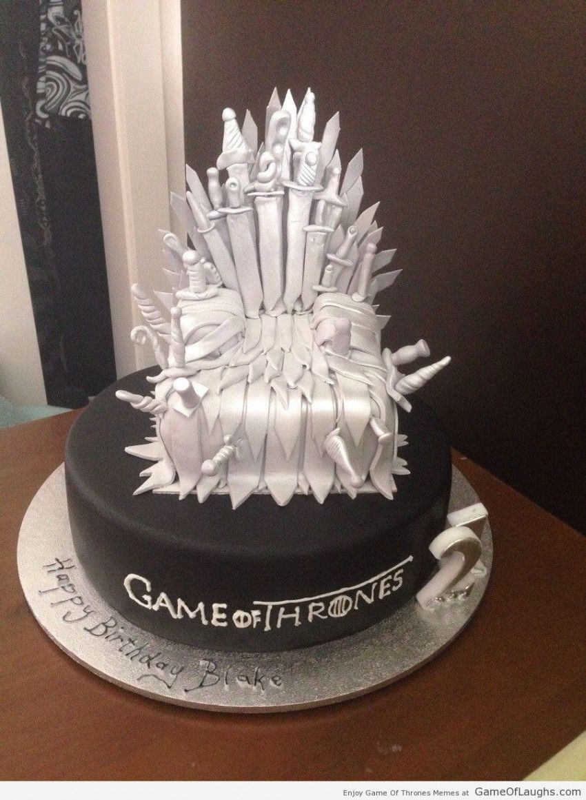 The Iron Throne Cake Game Of Thrones Cake Game Of Thrones Birthday Cake Game Of Thrones Birthday
