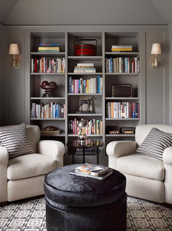 Dining Room Library Ideas: Online Interior Design - 10Hancock Project