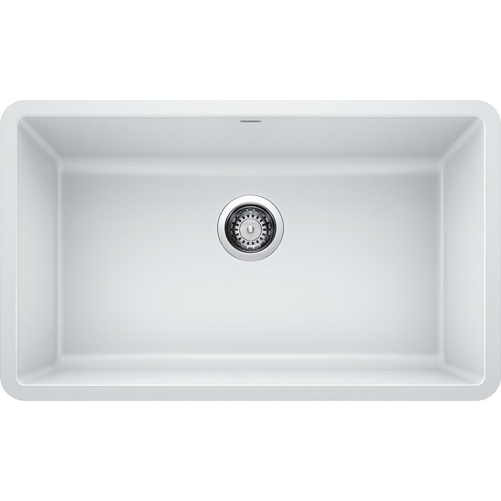 Blanco Precis Undermount Granite Composite 30 In Single Bowl