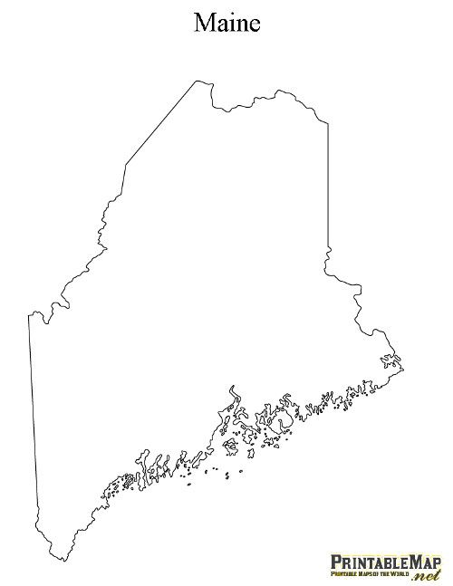 Printable Maps for projects | DIY | Map, Maine, Map quilt