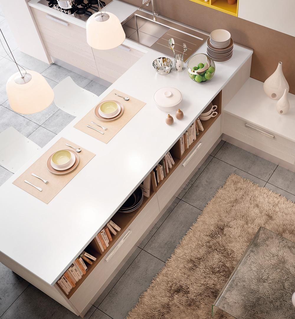 Adele project - Cucine Moderne - Cucine Lube | Kitchen | Pinterest ...