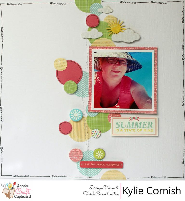 Kylie Cornish's example for our November 2016 colour challenge. Visit our blog for more information http://www.annascraftcupboard.com.au/blog/competitions/november-colour-challange/
