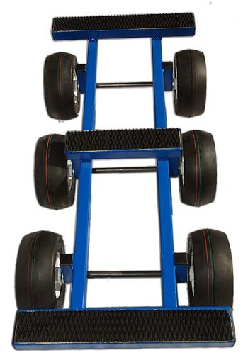 6 Wheel Steel All Terrain Dolly Perfect For Piano Hvac Diy Moving Moving Dolly Hvac