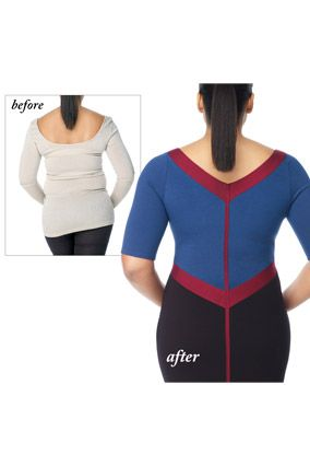 b65d0320f4 Solutions for Muffin Tops, Back Fat - How to Hide Turkey Neck ( and more )  - Oprah.com