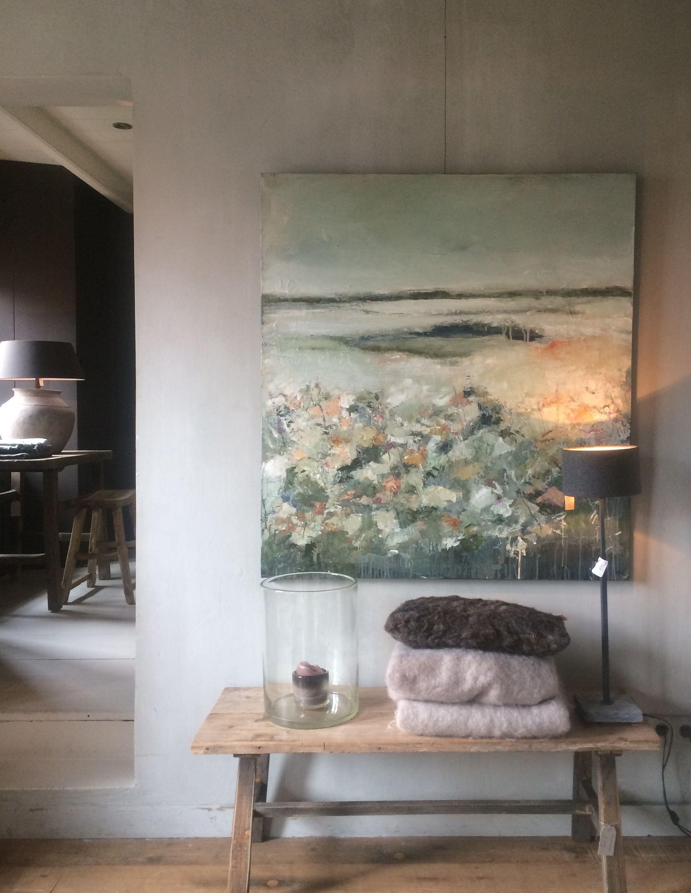 """Landscape """" Do You Remember""""  De Stamkamer Lienden Extraordinary Large Artwork For Living Room Design Decoration"""