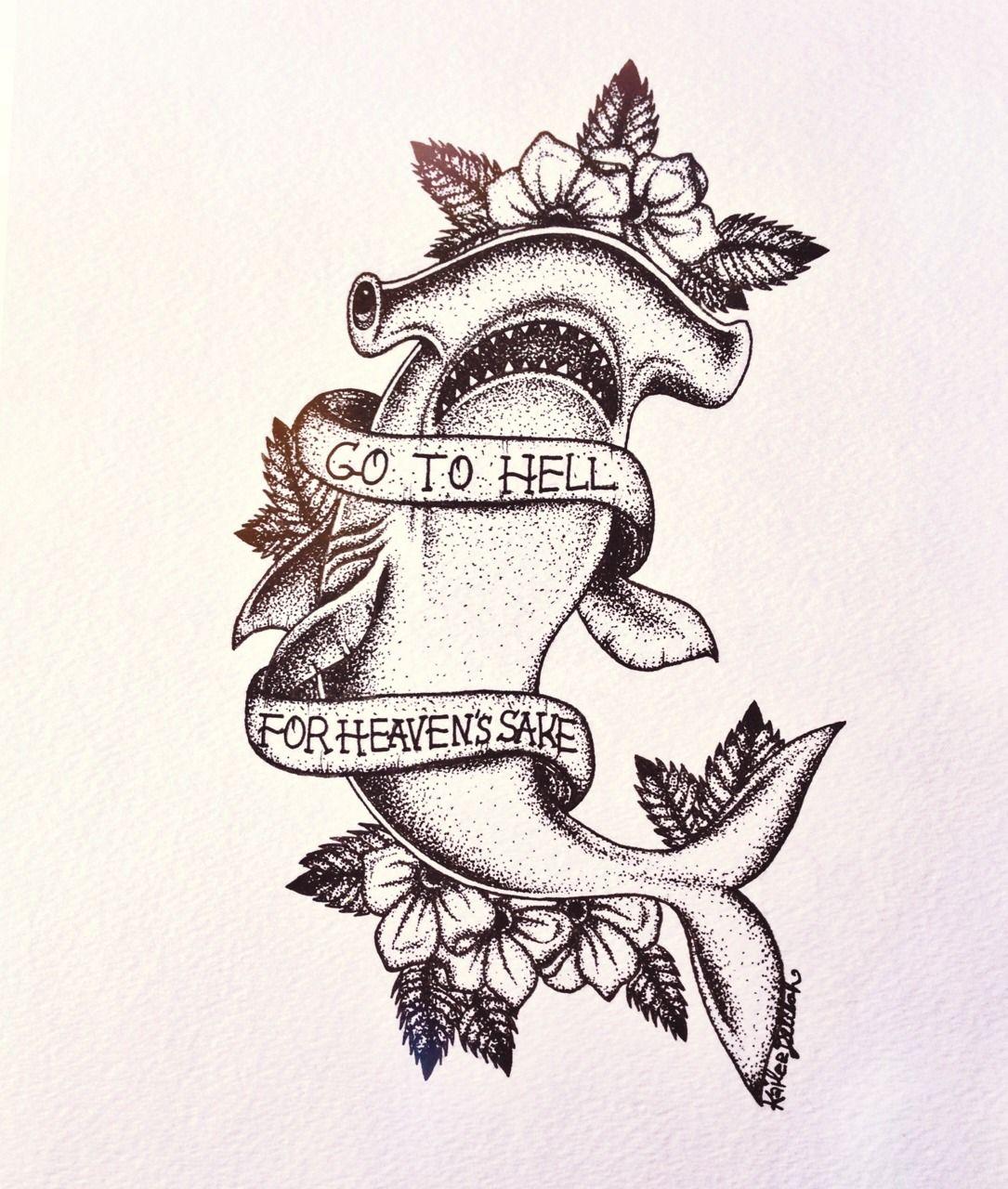 xmermaidbonesx (With images) Shark tattoos, Tattoos