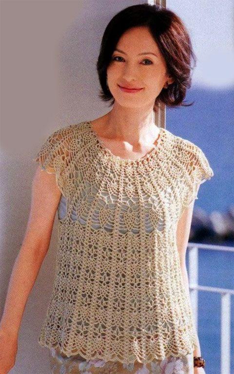 summer sweater crochet patterns   make handmade, crochet, craft ...
