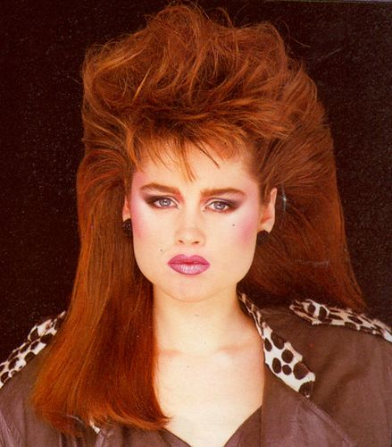 Surprising Woman Hairstyles 80S Hairstyles And Hairstyles On Pinterest Short Hairstyles Gunalazisus