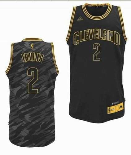 best loved 73531 954ac Cleveland Cavaliers #2 Kyrie Irving black Fashion Swingman ...