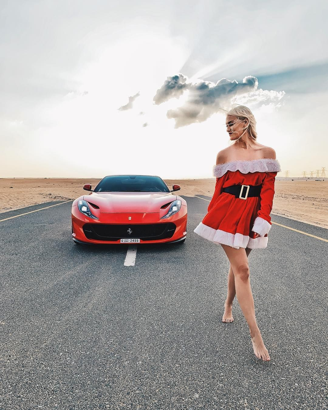 10 Days To Go What Are Your Christmas Wishes Ferrari 812 812superfast Christmas Superiorrental Car Girls Super Cars Trucks And Girls