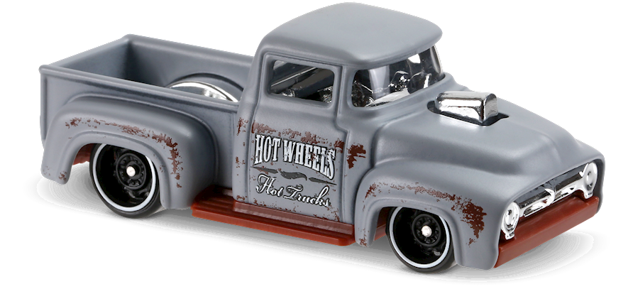 Custom 56 Ford Truck Grey Hot Wheels Collection Pinterest