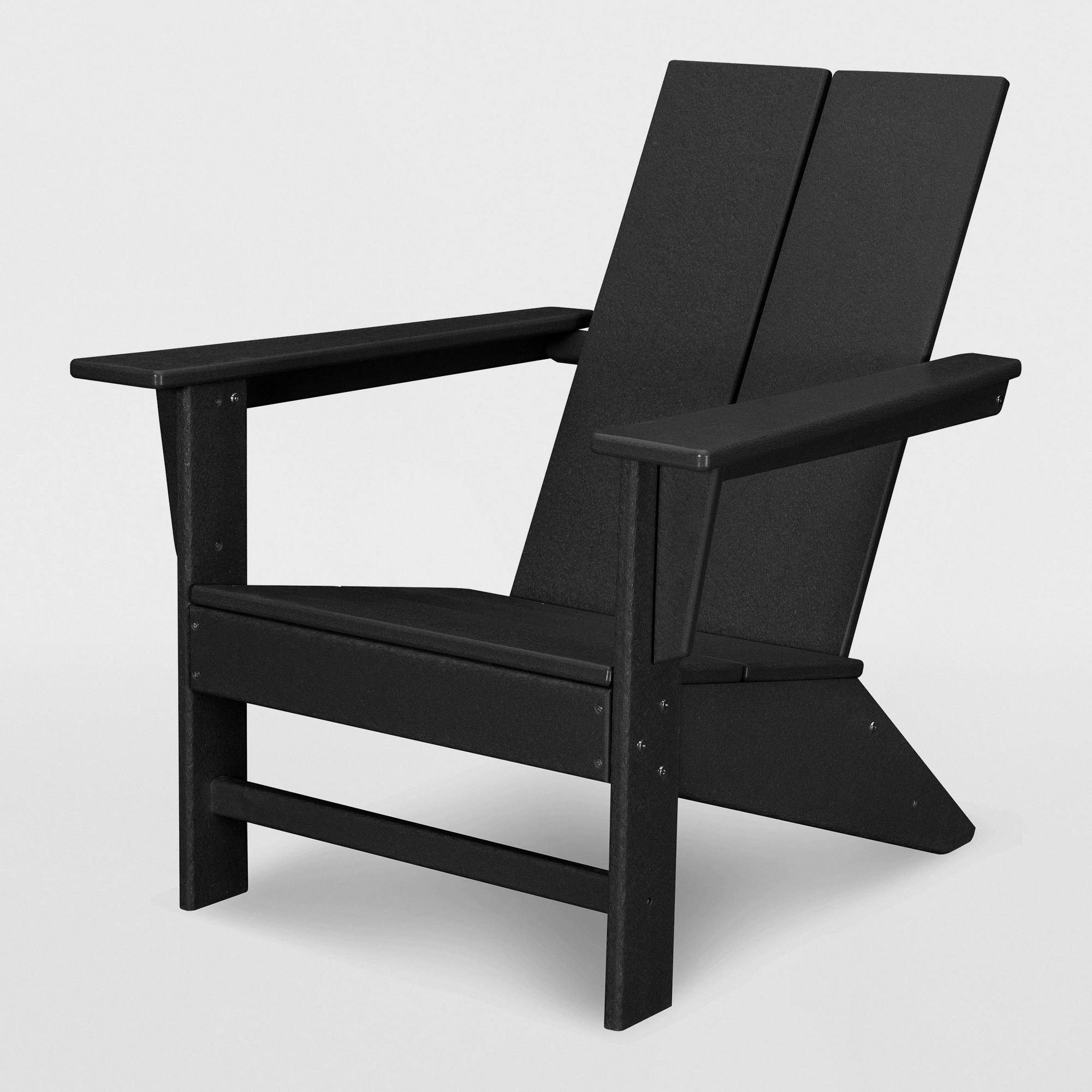 Moore Polywood Adirondack Chair Black Project 62 Contemporary Adirondack Chairs Polywood Adirondack Chairs Patio Dining Chairs