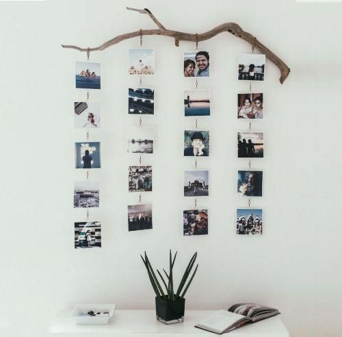 Photo of Tree Branch #Photo display voor het #Home. #BedroomWallDecor