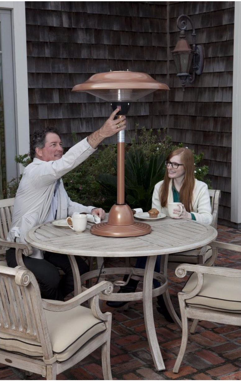Table Top Round Patio Heater With