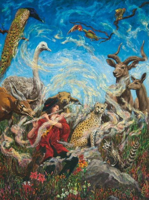 Lisa Zwerling  The Magic Flute, Tamino charms the animals,