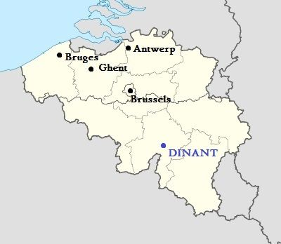 Belgium Under the Radar Dinant Belgium Tourism and Ireland