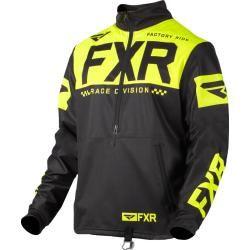 Photo of Fxr Cold Cross Rr Motocross-Pullover Schwarz Gelb M.