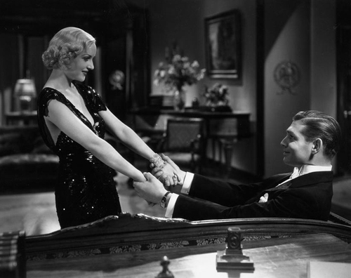 """Carole Lombard and Clark Gable """"No Man of Her Own"""" (1932)"""