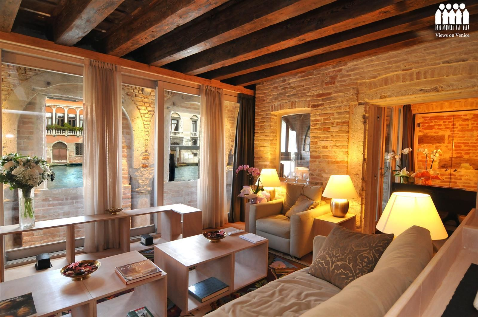 Ca Del Fontego Venice Apartment For Rent On The Grand C Italy Viewsonvenice