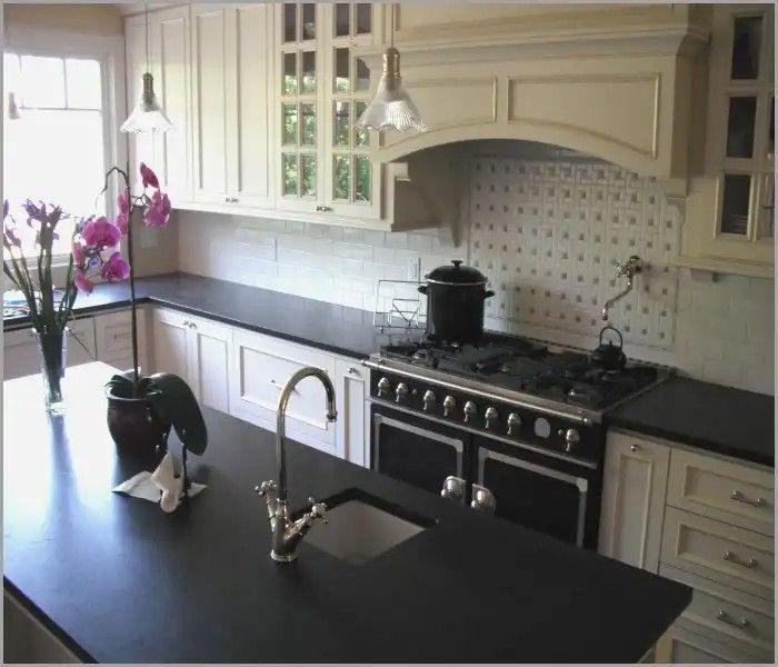 Kitchen Ideas White Cabinets With Dark Countertop: Matte Finish Kitchen Counter Top