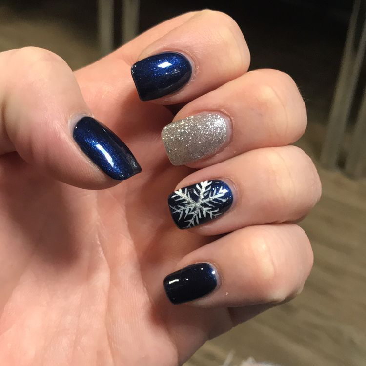 65 Cute Winter Nail Designs Get Inspired Winter Nails Christmas