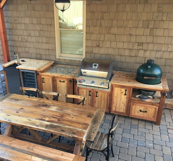 Each Of The 3 Pieces In This Listing Are Priced Separately Outdoor Kitchen Design Outdoor Kitchen Patio Grill Table