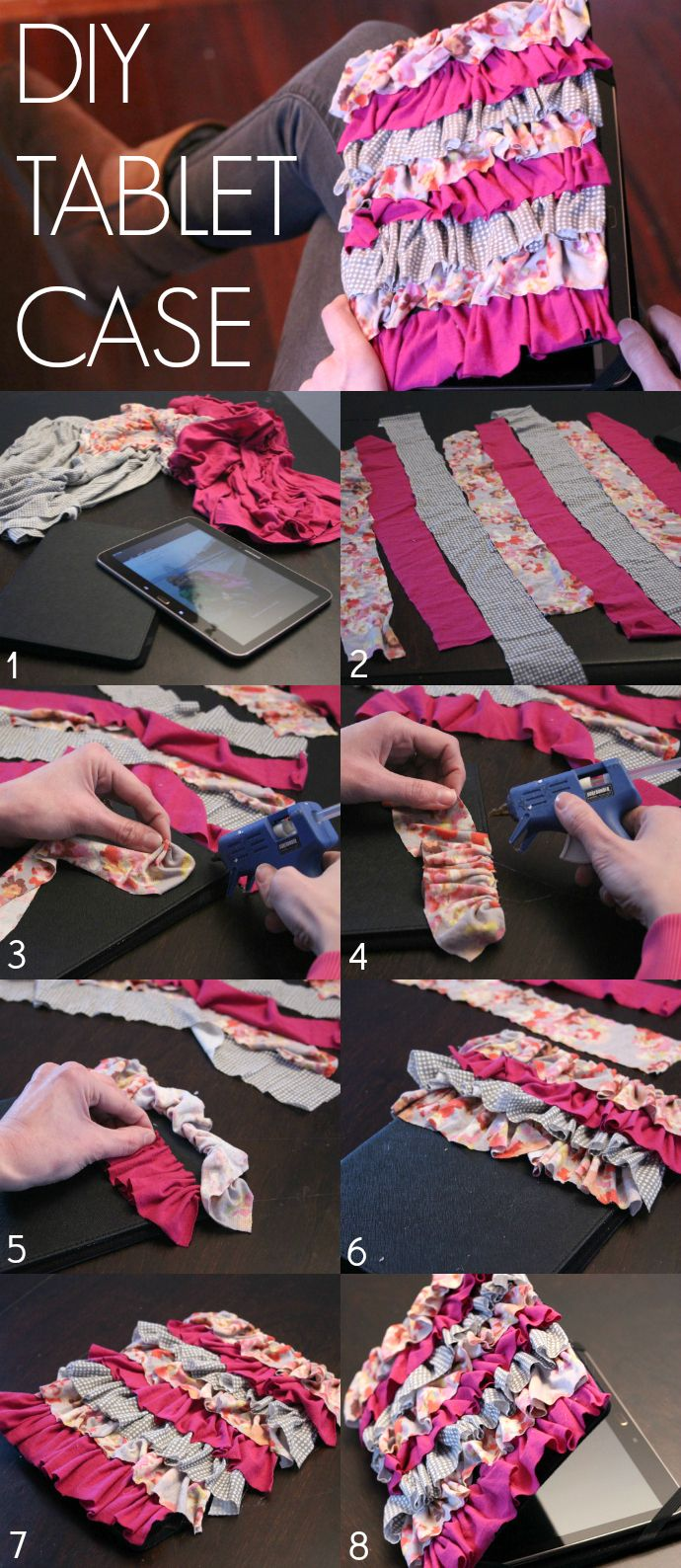 DIY Tablet Case Tutorial Diy craft projects, Diy fashion
