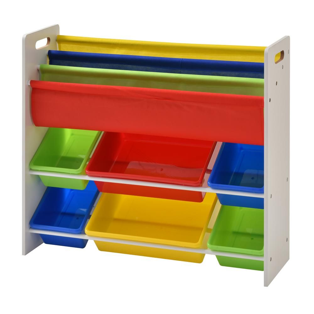 Muscle Rack 33 8 In X 10 4 In Book And Toy Storage Organizer