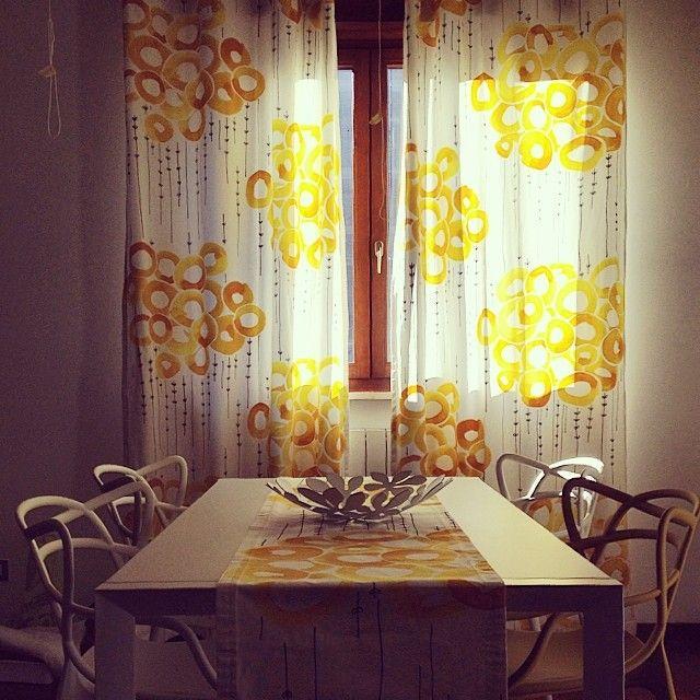Yellow living room #ikea #kartell #myhome