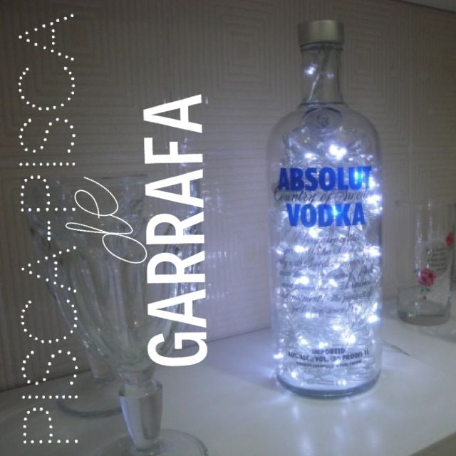 Cerveceria Artesanal Zona Norte ~ Pot Pourri da Karen DIY luminária de garrafa com pisca