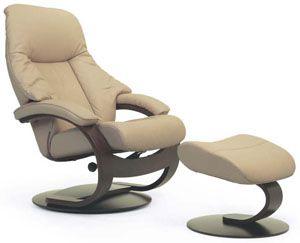 Fjords Giske Ergonomic Leather C Frame Recliner Chair Ottoman Scandinavian Norwegian Lounge Chair By Hjellegjerde Stressless Chair Chair Recliner