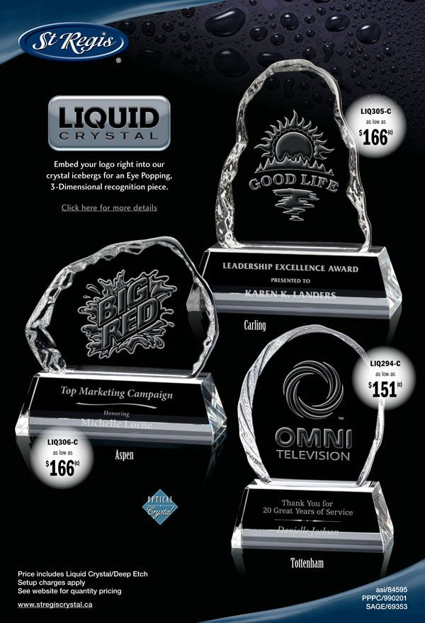 st regis recompense cristaux liquides de belles cr ations en. Black Bedroom Furniture Sets. Home Design Ideas