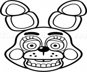 Print not happy five nights at freddy fnaf coloring pages for Fnaf coloring pages golden freddy