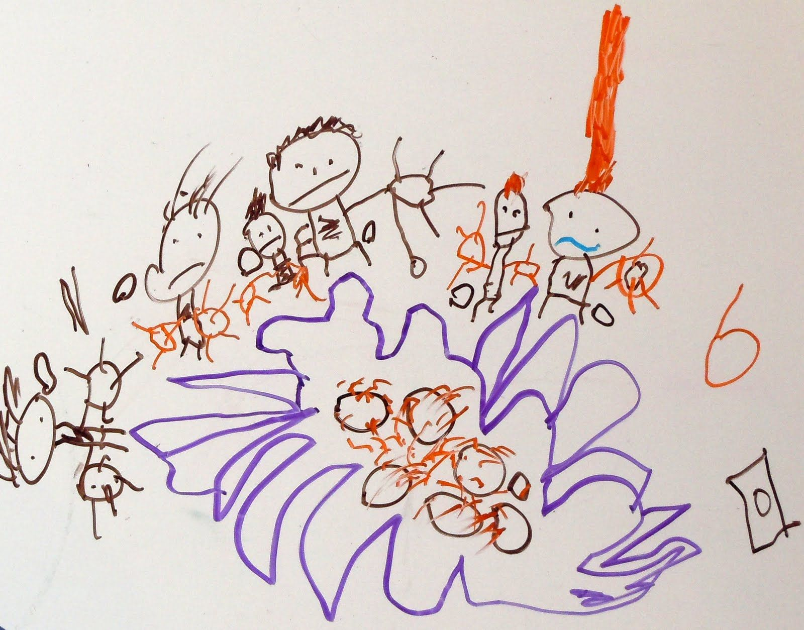 Drawnings by a 6 Year Old | drawing by our 6 year old ...