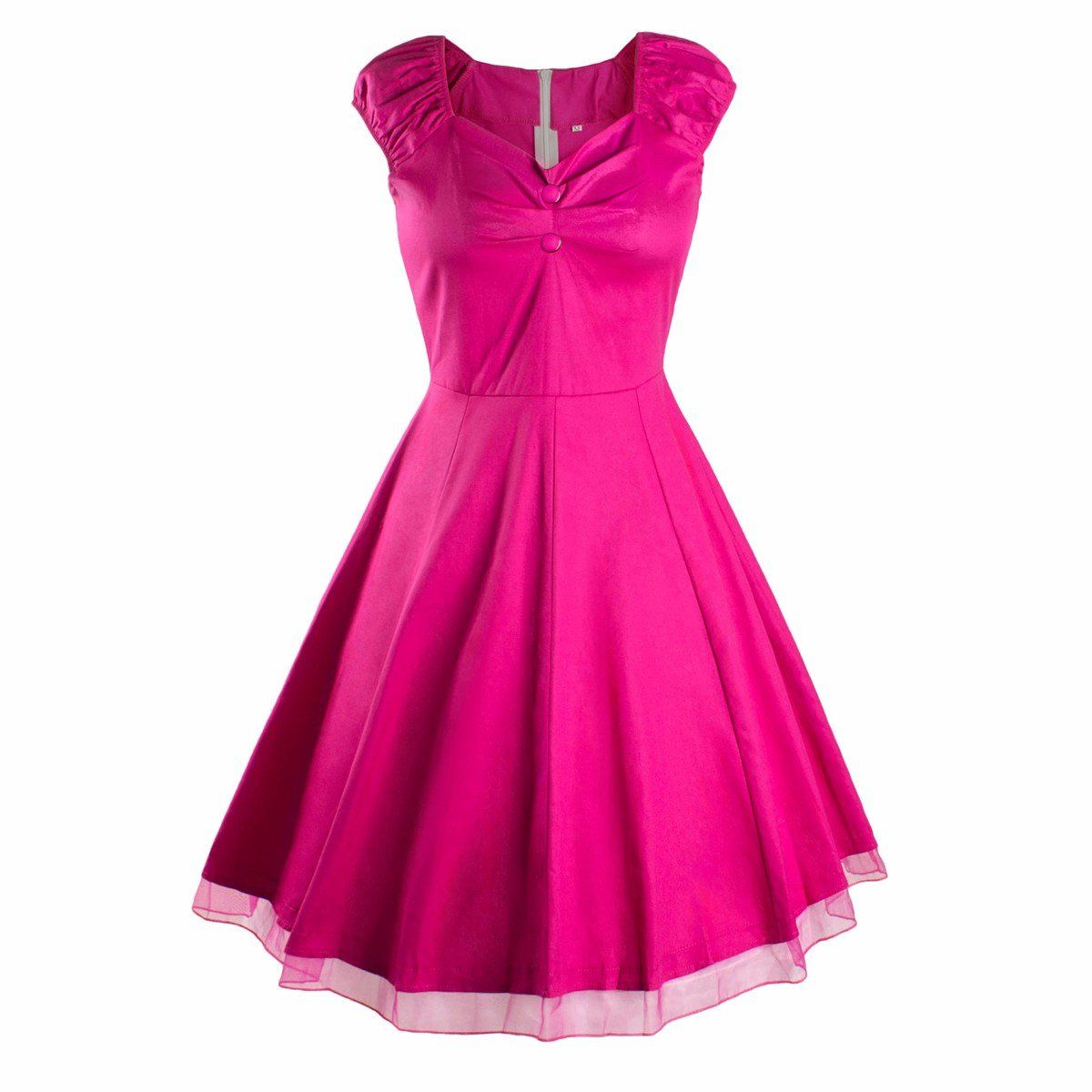 Samtree Womens 1950s Style Vintage Swing Rockabilly Picnic Party ...